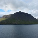 The view of the fjords was gorgeous as we neared Seyðisfjörður.