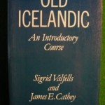 Old Icelandic book.