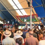 The Town Pants put on an absolutely floor-stomping show in jam-packed the dance tent!