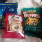 Amtrak kept the peace during the delay by feeding us these snacks.