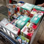 We purchased enough ice cream to keep the hippies happy for the weekend.
