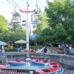 "As well as more gentle rides such as the Sky Ride aka ""The Buckets"" and rides for kids."