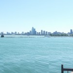 Panorama of Chicago seen from the Navy Pier.