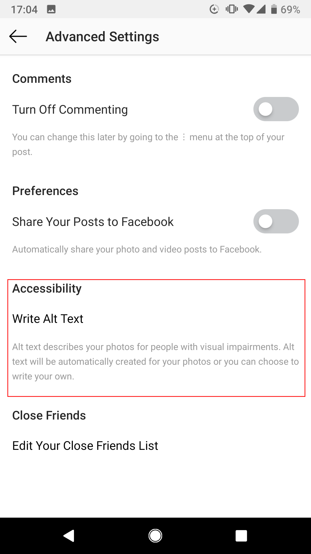 how to edit a comment on instagram android